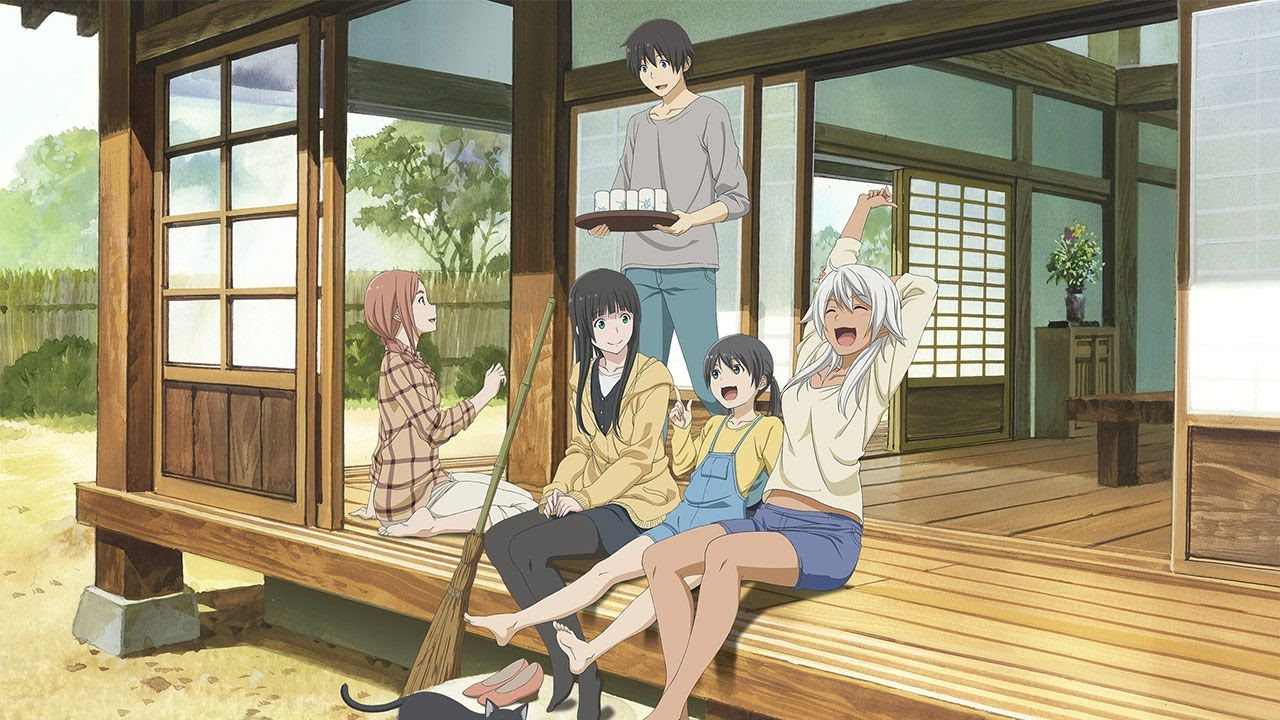 Cover image of Flying Witch