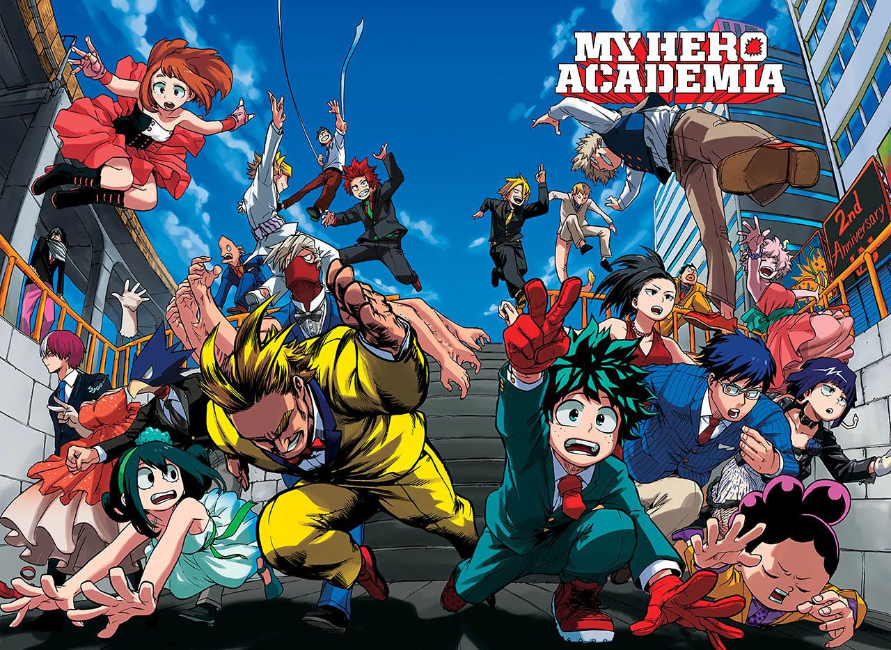 Cover image of Boku no Hero Academia