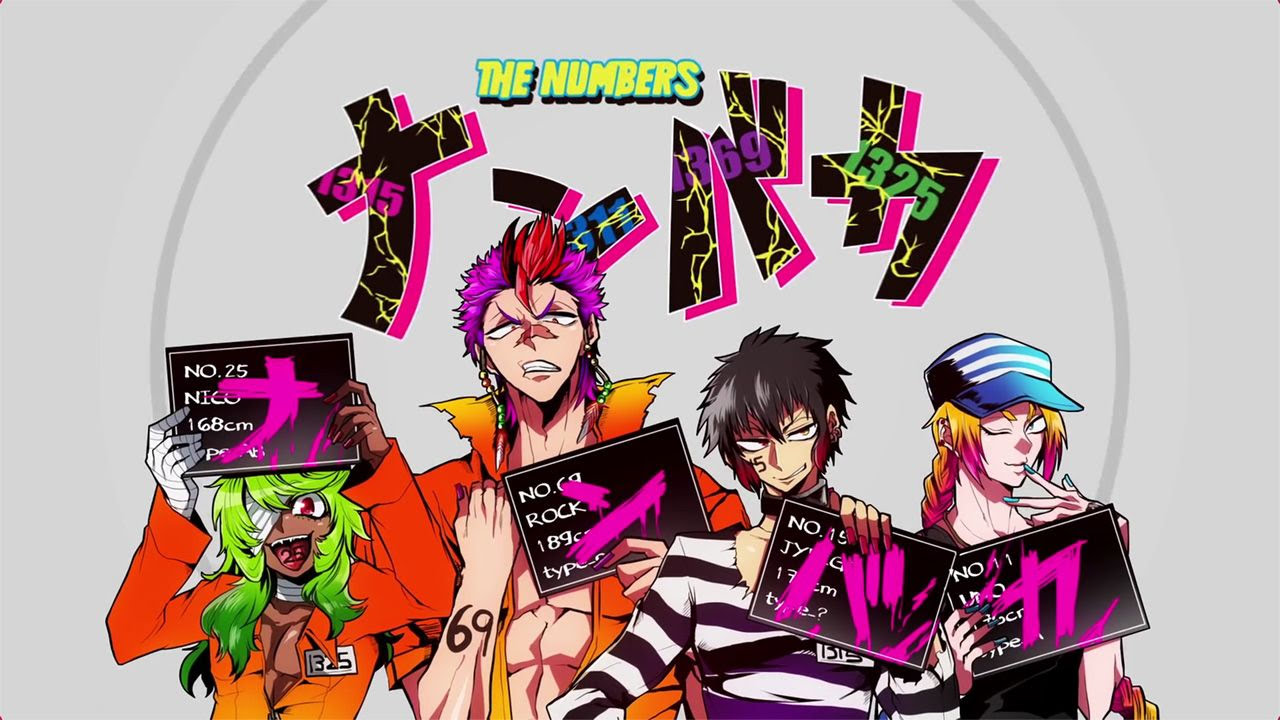 Cover image of Nanbaka