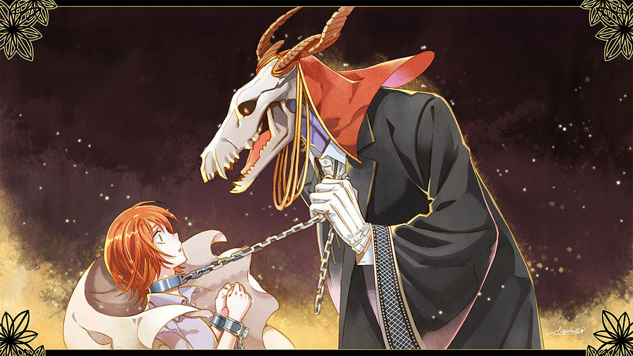 Cover image of Mahoutsukai no Yome