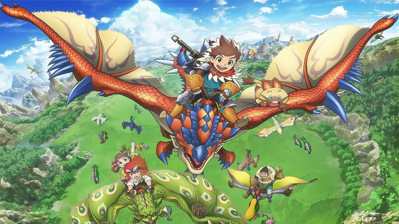 Cover image of Monster Hunter Stories: Ride On