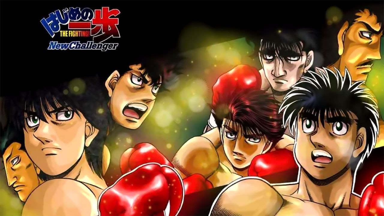 Cover image of Hajime no Ippo: New Challenger