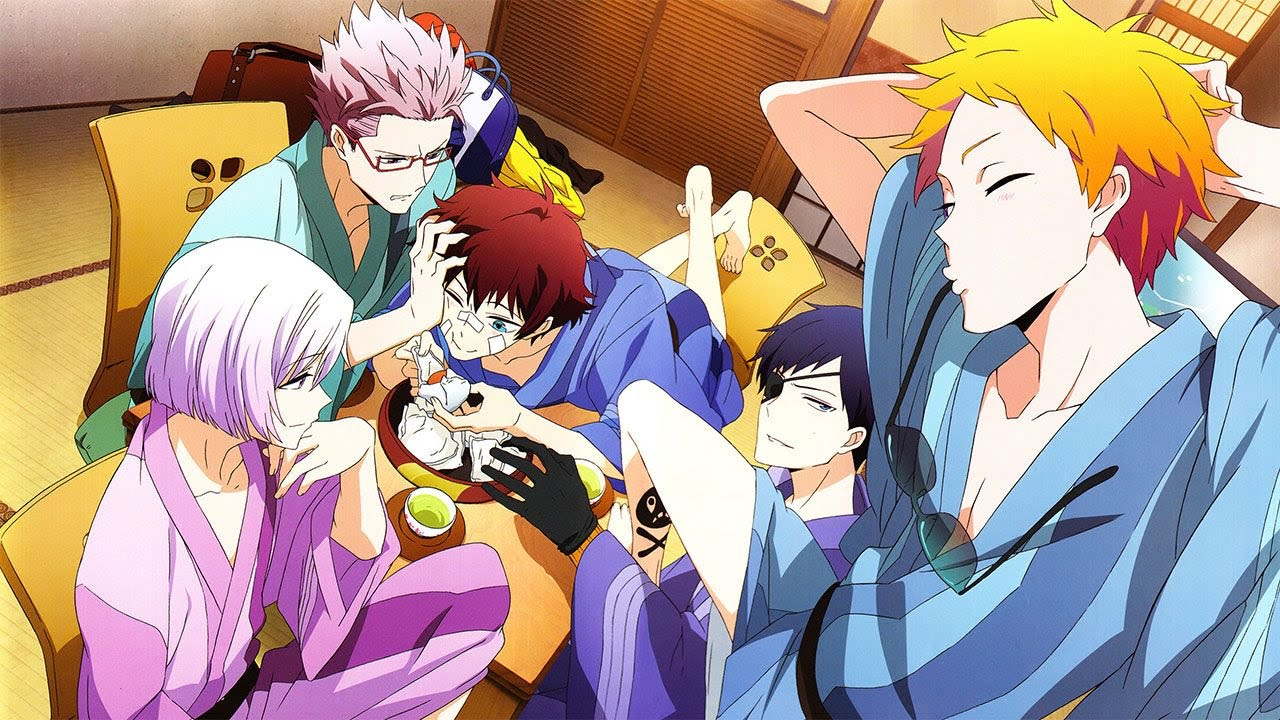 Cover image of Hamatora The Animation
