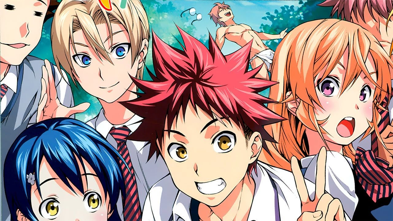 Cover image of Shokugeki no Souma