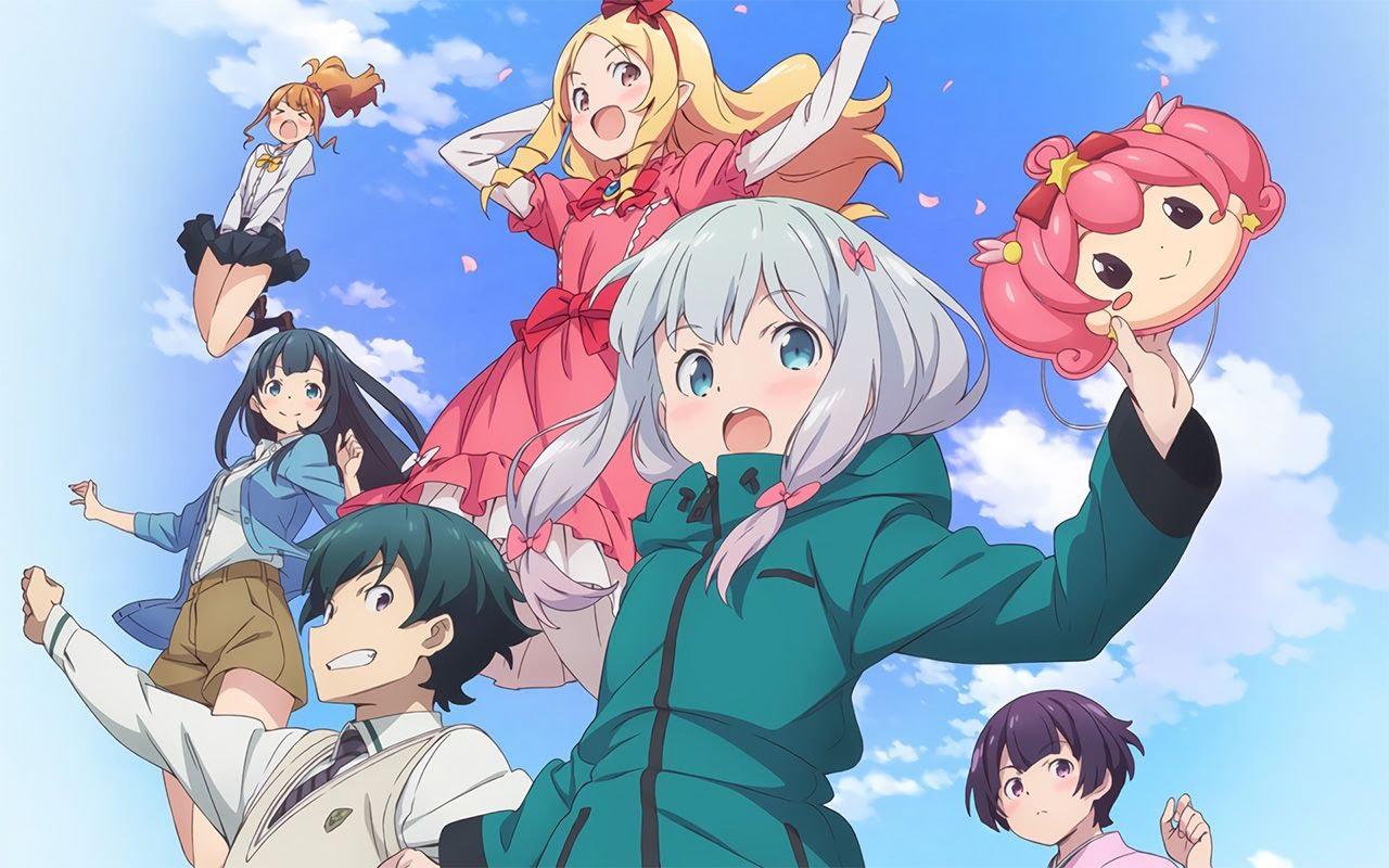 Cover image of Eromanga-sensei