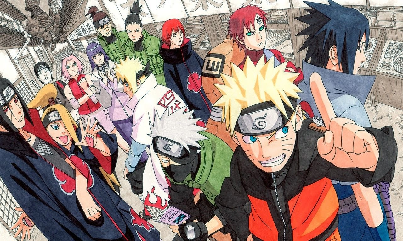 Cover image of Naruto: Shippuuden